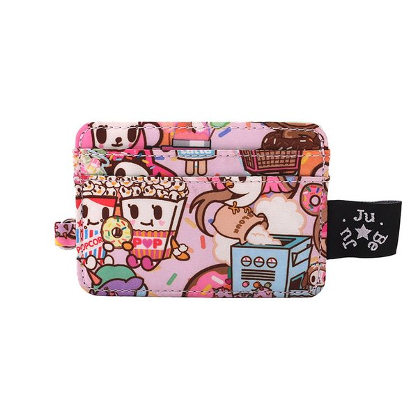 Ju-Ju-Be x Tokidoki Be Charged Card Holder in Donutella's Sweet Shop