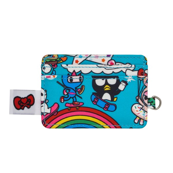 Ju-Ju-Be x Tokidoki for Hello Kitty Be Charged Card Holder in Rainbow Dreams