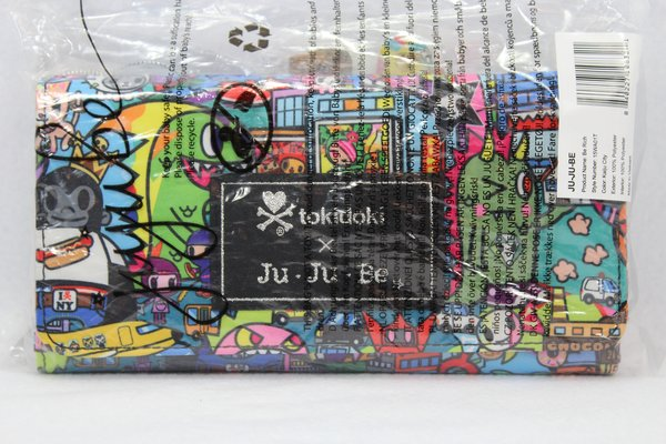 Ju-Ju-Be x Tokidoki Be Rich Wallet in Kaiju City PLACEMENT F