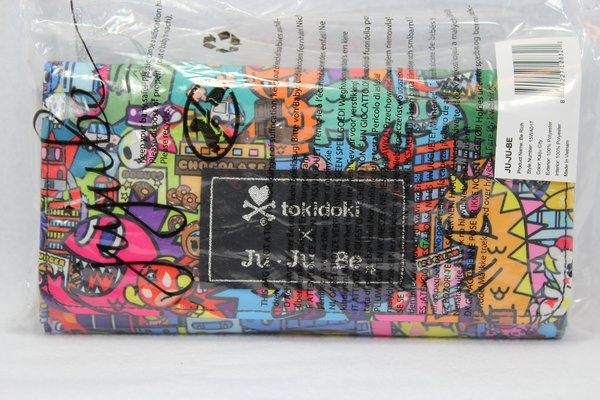 Ju-Ju-Be x Tokidoki Be Rich Wallet in Kaiju City PLACEMENT H