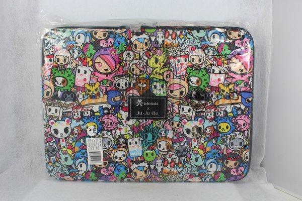 Ju-Ju-Be x Tokidoki Mega Tech Laptop Case in Iconic 2.0 - PLACEMENT A Donutella Sandy Sirena