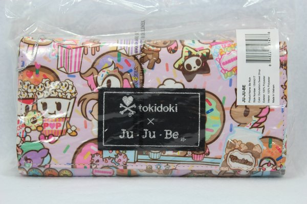 Ju-Ju-Be x Tokidoki Be Rich Wallet in Donutella's Sweet Shop - PLACEMENT I