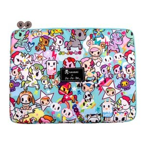Ju-Ju-Be x Tokidoki Mega Tech Laptop Case in Unikiki 2.0