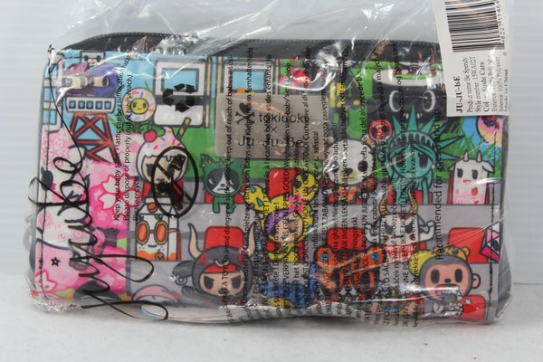 Ju-Ju-Be x Tokidoki Be Spendy Wallet in Sushi Cars- PLACEMENT A Amarena Biscotti Donutella
