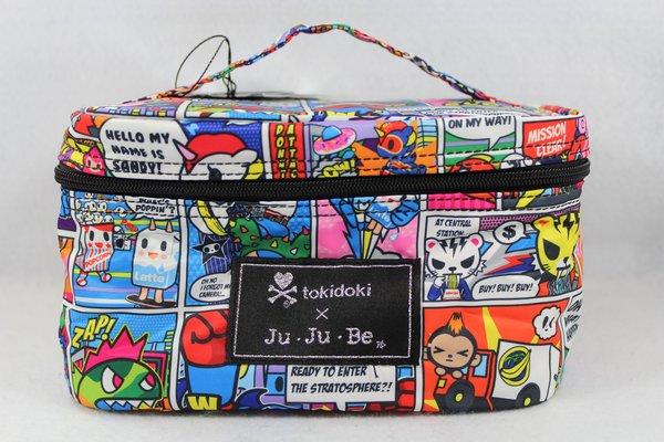Ju-Ju-Be x Tokidoki Be Ready Makeup Bag in Super Toki PLACEMENT F