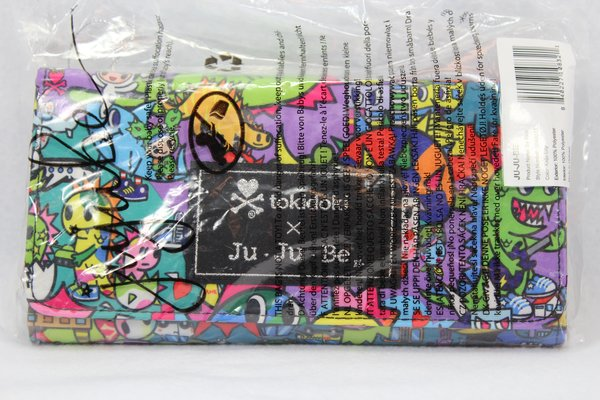 Ju-Ju-Be x Tokidoki Be Rich Wallet in Kaiju City PLACEMENT D