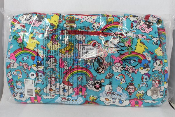 Ju-Ju-Be x tokidoki Hello Kitty Starlet in Rainbow Dreams - PLACEMENT H Donutella My Melody