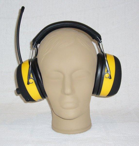 AM/FM Digital Radio Headset For Race Scanners Noice