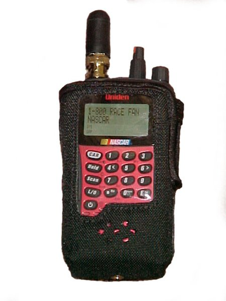 Police Scanners For Sale >> Scanner Case Duros nylon fits BC125, BC75, SC230 BC92 BC95 BC72 | Racescanners Nascar Race ...