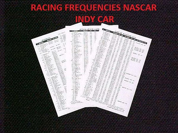 Dec 20, Number Driver Primary Secondary 1 Jamie McMurray 2 Brad Keselowski 3 Austin Dillon nbspsee scanner frequencies at NASCAR Scanner Frequencies page see scanner related links and past news at Scanner Links and Past News page Monster Energy NASCAR Cup Series Scanner Frequencies