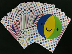 BEACH BALL NOTE CARDS