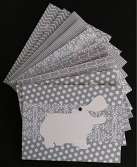 HIPPO NOTE CARDS