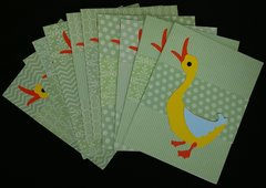 DUCK NOTE CARDS