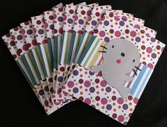 SEAL CIRCLES NOTE CARDS