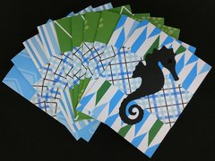 SEAHORSE NOTE CARDS