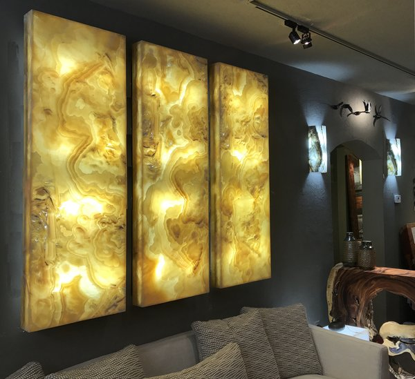 Large Onyx Wall Panel Sequoia Santa Fe