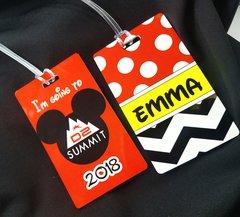 Summit D2 Custom Personalized Bag Tag