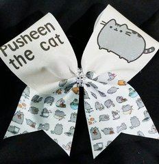 Pusheen The Cat Glitter Cheer Bow