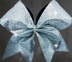 Melissa Rhinestone Cheer Bow - All Colors