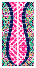 Lilly Inspired Cheer Bow Ready to Press Sublimation Graphic