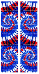 July 4th Tie Dye Ready to Press Sublimation Graphic