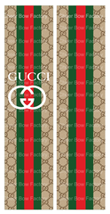 Gucci Inspired Cheer Bow Ready to Press Sublimation Graphic