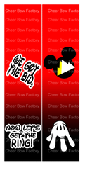 We Got The Bid Now Let's Get The Ring Mickey Cheer Bow Ready to Press Sublimation Graphic