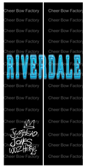 Riverdale Jughead Cheer Bow Ready to Press Sublimation Graphic