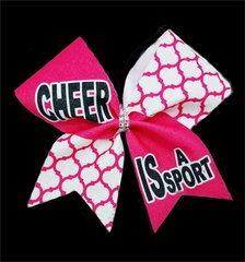 Cheer is a Sport Cheer Bow