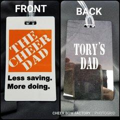 The Cheer Dad Bag Tag