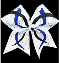 Glitter Rhinestone Tess Cheer Bow - All Colors