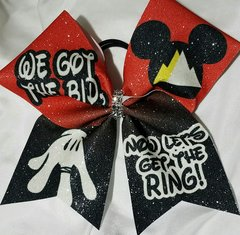 We Got The Bid Now Let's Get The Ring Summit Cheer Bow