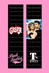 Grease Cheer Bow Ready to Press Sublimation Graphic
