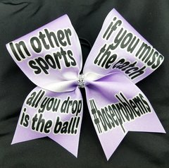 #baseproblems Cheer Bow