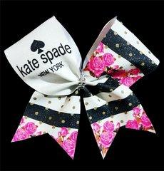 Kate Spade Inspired Glitter Cheer Bow