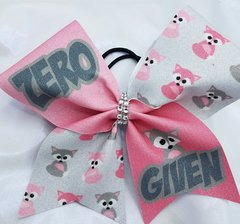Zero Fox Given Glitter Cheer Bow
