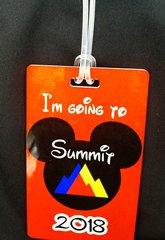 Summit Custom Personalized Bag Tag