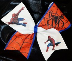 Spiderman Cheer Bow