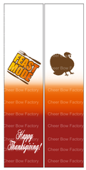 Feast Mode Cheer Bow Ready to Press Sublimation Graphic