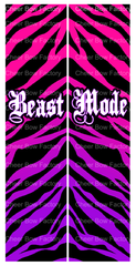 Beast Mode Cheer Bow Ready to Press Sublimation Graphic