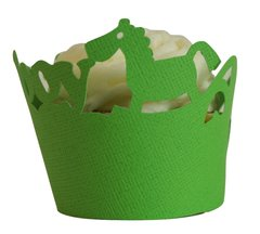 Grass Green It's A Boy Cupcake Wrappers