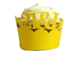 Yellow 21 & Legalized Cupcake Wrappers