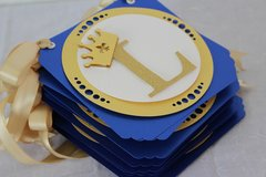 Custom Banner: Royal Blue & Gold Prince Theme Banner