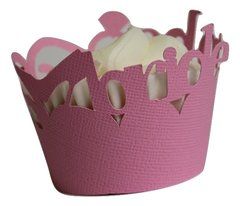Bubblegum Pink Bride to be Cupcake Wrappers