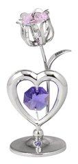 Tulip/Heart Free Standing w/Swarovski Element Crystal