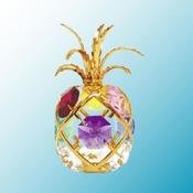 Pineapple Free Standing w/Mixed Swarovski Element Crystal