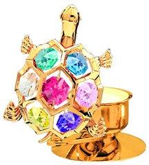 Turtle T-Lite Holder w/Swarovski Element Crystal