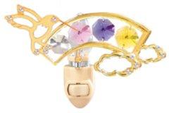 Hummingbird/ Rainbow Night Light w/Swarovski Element Crystal