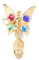 Fairy w/Heart Night Light w/Swarovski Element Crystal