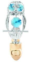 Owl Night Light w/ Swarovski Element Crystal